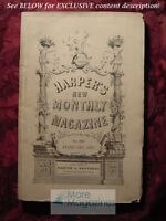 HARPERs February 1871 JAMES DE MILLE FLORIDA REEFS LYMAN ABBOTT GLASS-BLOWING