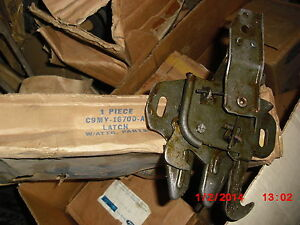 1969-70 Mercury All Full-Size Monterey & Marquis NOS Hood Latch Assy
