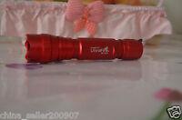 Red Shell UltraFire 501B White LED Bulb XP-G R5 5 Mode 4.2V-8.4V Lamp Flashlight