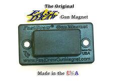 Concealed Gun Magnet Holster Mountable Hide Under Desk  Bed, Safe Weapon Storage