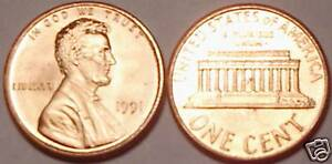 1991-P GEM UNC LINCOLN CENT~WE HAVE LINCOLN CENTS~FR/SH