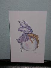 Amy Brown - Bubble Rider Ii - Mini Print - Rare