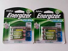 ENERGIZER AAA RECHARGEABLE BATTERIES/LOT OF 8