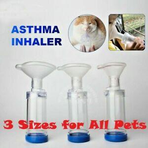 Cat/Dog Inhaler Breathing Indicator for Asthma Aerosol Chamber with PVC Mask US