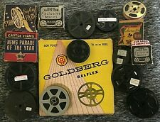 Lot of 16 16mm Film Prints | Disney, Felix the Cat, Popeye, News, Many More!