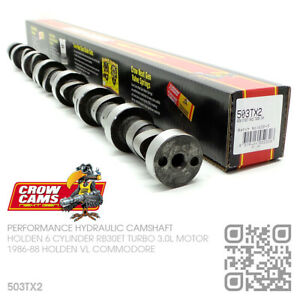 CROW CAMS 503TX2 CAMSHAFT 6 CYL RB30ET 3.0L TURBO MOTOR [HOLDEN VL COMMODORE]