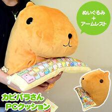 2017 New Kapibara san PC Support Cushion Keyboard Mascot TRYWORKS Plush Doll Hot