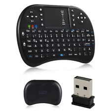 Mini Wireless Remote Keyboard 2.4GHz Touchpad Samsung LG Smart TV PC Android