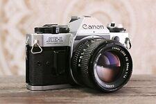 Canon AE-1 Program 35mm Film Camera, FD 50mm f1.4 Lens, GUARANTEED, RA106, F1 A1