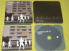 FABRICLIVE 10 Fabio - 14 Trk Mix CD Album Drum n Bass Jungle Dance