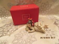 "Lenox Fireplace Collection ""Sleeping Girl"" Figurine Mib"
