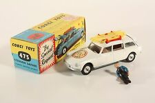 CORGI TOYS 475, Citroën Safari Olympic Winter Sports, Comme neuf Dans Box, #ab1861