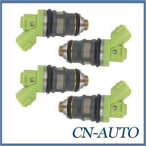 4X Fuel Injector For Toyota Hiace RZH103 RZH113 RCH12 RCH22 2RZ-E 2.4L 1995-2004
