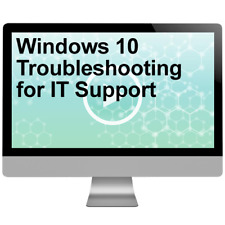 Windows 10 Troubleshooting for IT Support Video Training