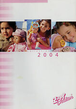 Catalogo ZAPF bambole Collection 2004 107 pag. opuscolo brochure DOLLS D GB F e NL