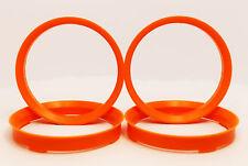 /Verde /Anillos 72.5-57.1/mm/ Set Cubo de rueda TPI/