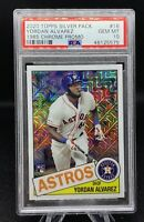 2020 Yordan Alvarez ROOKIE (RC) Topps Chrome Silver Pack  💎  PSA 10 GEM MINT 💎