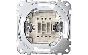 Merten Taster UP-Einsatz MEG 3150-0000 Schließer1 pol.10A 250V,