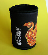 Collectible Wild Turkey American Honey Neoprene Stubby Holder - Like New