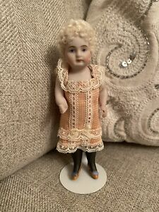 Stunning One Of A Kind Artist Made All Bisque Reproduction Mignonette Doll