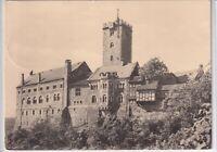Ansichtskarte Eisenach - Blick auf die Wartburg/Ostseite - schwarz/weiß