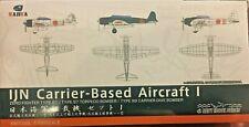 1/700 IJN Carrier Aircraft I (Zero, Kate, Val) --  Kajika / Flyhawk KM70005