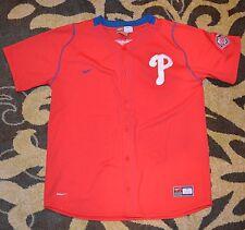 Chase Utley Philadelphia Phillies Nike Fit Dry #26  Baseball Jersey Youth Large