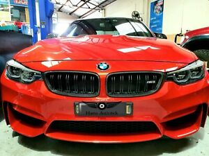 100% Real Carbon Grill Cover for BMW M3 M4 F80 4 Series F32 F33 F36 ( Stick On)