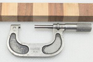 "Vintage Brown & Sharpe No. 62 Micrometer 1""-2"" Range (INV J749)"