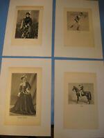 Circus Renz 1930.Jahre Drucke,Bilder von Artisten,Petzold-Circus pictures 1930