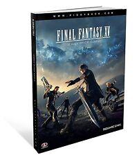 Final Fantasy XV Guide officiel complet Piggyback Square Enix