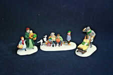 Market Day Set of 3 5641-3 The Heritage Collection Department 56