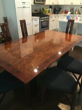 Burrell Wood Dining Set