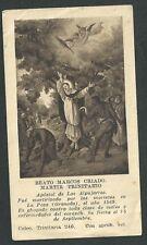 Estampa antigua Beato Marcos andachtsbild santino holy card santini