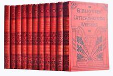 Bibliothèque D. divertissement et D. connaissance 1906