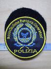 PATCH TOPPA POLIZIA - ASSOCIAZIONE EUROPEA OPERATORI - DIAMETRO 6cm con VELCRO