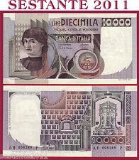 ITALIA ITALY 10.000 10000 LIRE BUSTO D'UOMO CASTAGNO 1980 P 106b  SPL+ / XF+