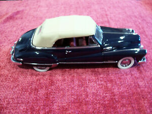BUICK 1948 Roadmaster Convertible-Danbury Mint--ESTATE FIND