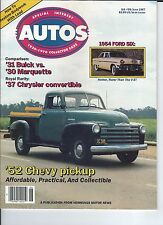 SPECIAL INTEREST AUTO - #99 / 1952 Chevrolet Pickup / 1954 Ford / 27 Hudson ++++