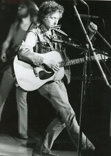 BOB DYLAN ON STAGE 1973 VINTAGE PHOTO ORIGINAL