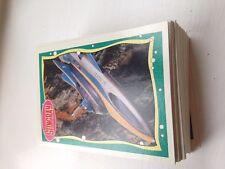 TOPPS STINGRAY CAPTAIN SCARLET THUNDERBIRDS 1993 FULL SET 66 CARDS