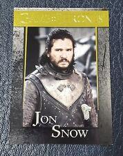 2020 Game of Thrones Season 8 GOLD Parallel #20 Jon Snow Serial #87/175
