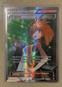 Brigette Trainer 161/162 Ultra Rare Breakthrough Pokemon card Mint