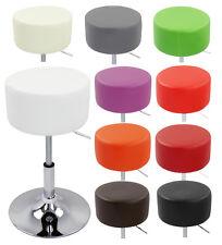 1 Tabouret de bar Pivotant à 360 ° cuir synthétique chaise cuisine réglable f006