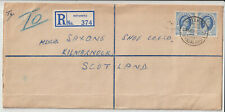 "RHODESIA - "" KOTAKOTA "" 1955 4d REGISTERED LETTER"