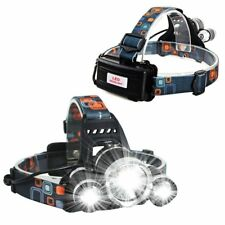 Head lamp or Hard hat LED light. Bike light. Super bright!!!!!