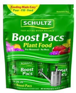 Schultz Boost Pacs SPF48900 Plant Fertilizer 24 Count