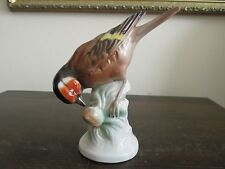 Vintage Unter Weiss Bach  Germany Porcelain Bird Figurine Nice