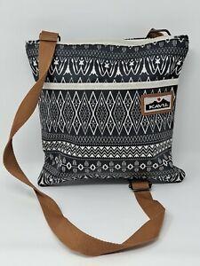 KAVU Brown Crossbody Shoulder Bag