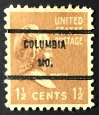 Columbia, Missouri Precancel – 1.5 cents Prexie (U.S. #805) MO